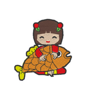 Chinese Lion Dance Act 3 ( Hoop Size : 10×10 cm )