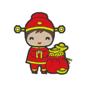Chinese Lion Dance Act 2 (Hoop Size 10×10 cm)